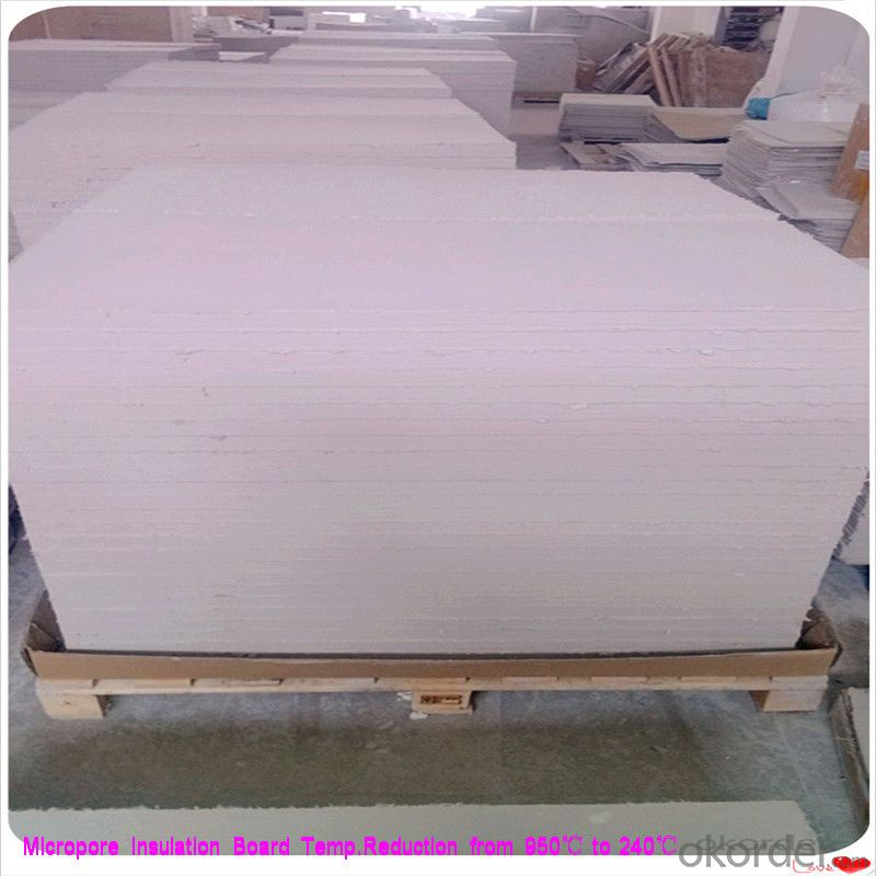 Calcium Silicate Insulation Board Steel Plant Using Micropore Heat and Thermal Insulation Layer