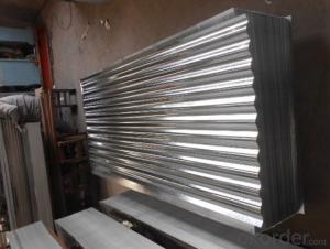 Corrugated-Hot-Dip Galvanized Steel Sheet in Sheet