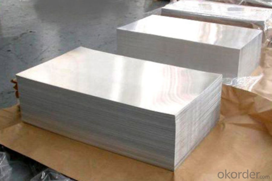 Mill Finined Aluminum Sheets 8xxx