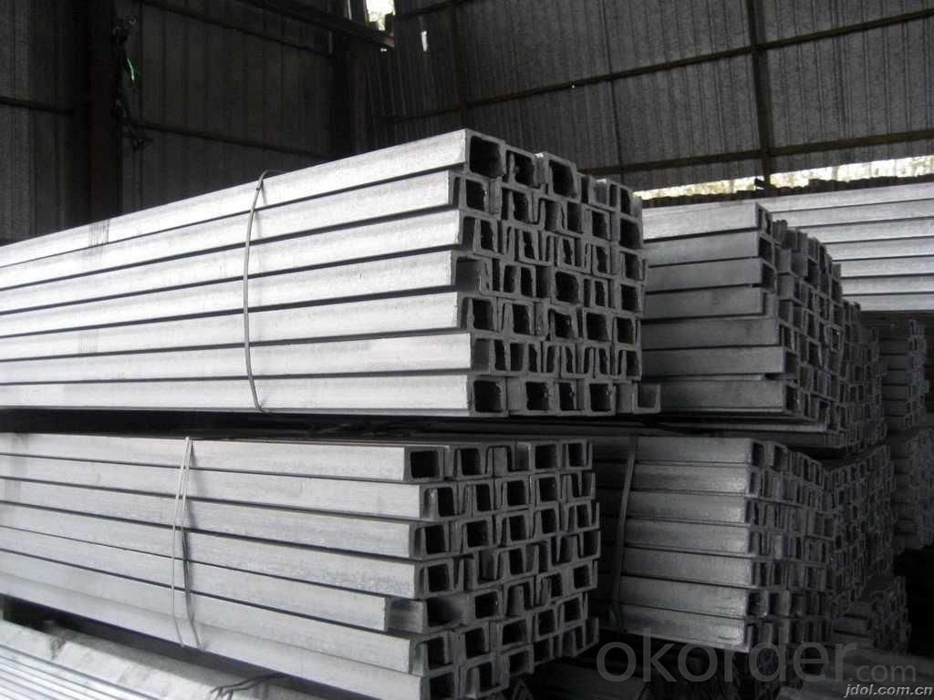 JIS SS400 Steel Channel with High Quality 50mm
