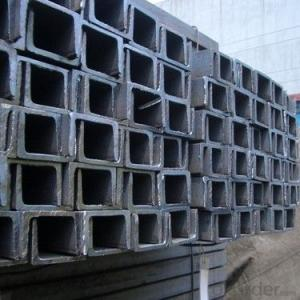 JIS SS400 Steel Channel with High Quality 125mm
