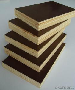 Brown/Black Film Faced Plywood Marine Plywood for Building