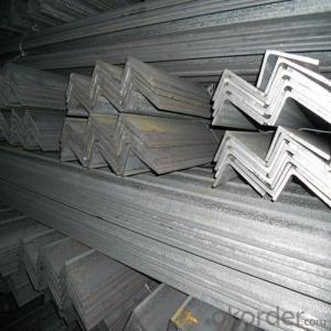 Hot Rolled Angle Bar Steel 6M or 12M EN10025,JIS G3192,DIN 1026,GB 707-88