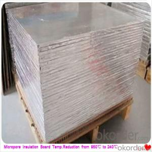 High Strength Wall Insulation Board Steel Plant Using Micropore Heat and Thermal Insulation