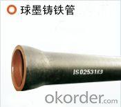 Ductile Iron Pipe Cast Iron EN545 Class DN600