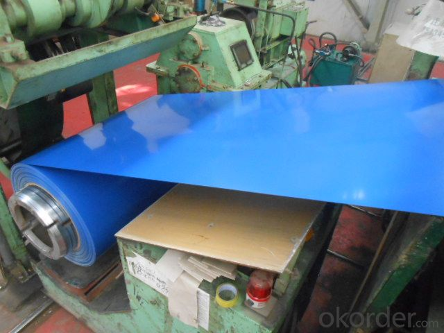 Pre-Painted GI Steel Coil in Blue Color