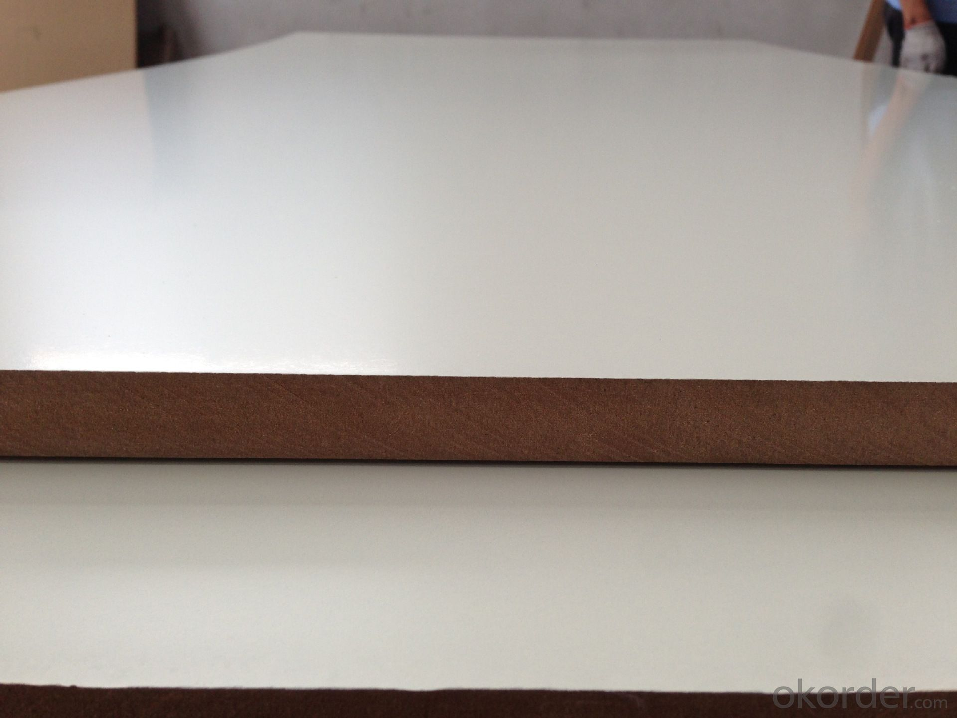 Buy Warm White Melamine Mdf Melamine Mdf Board Price Size