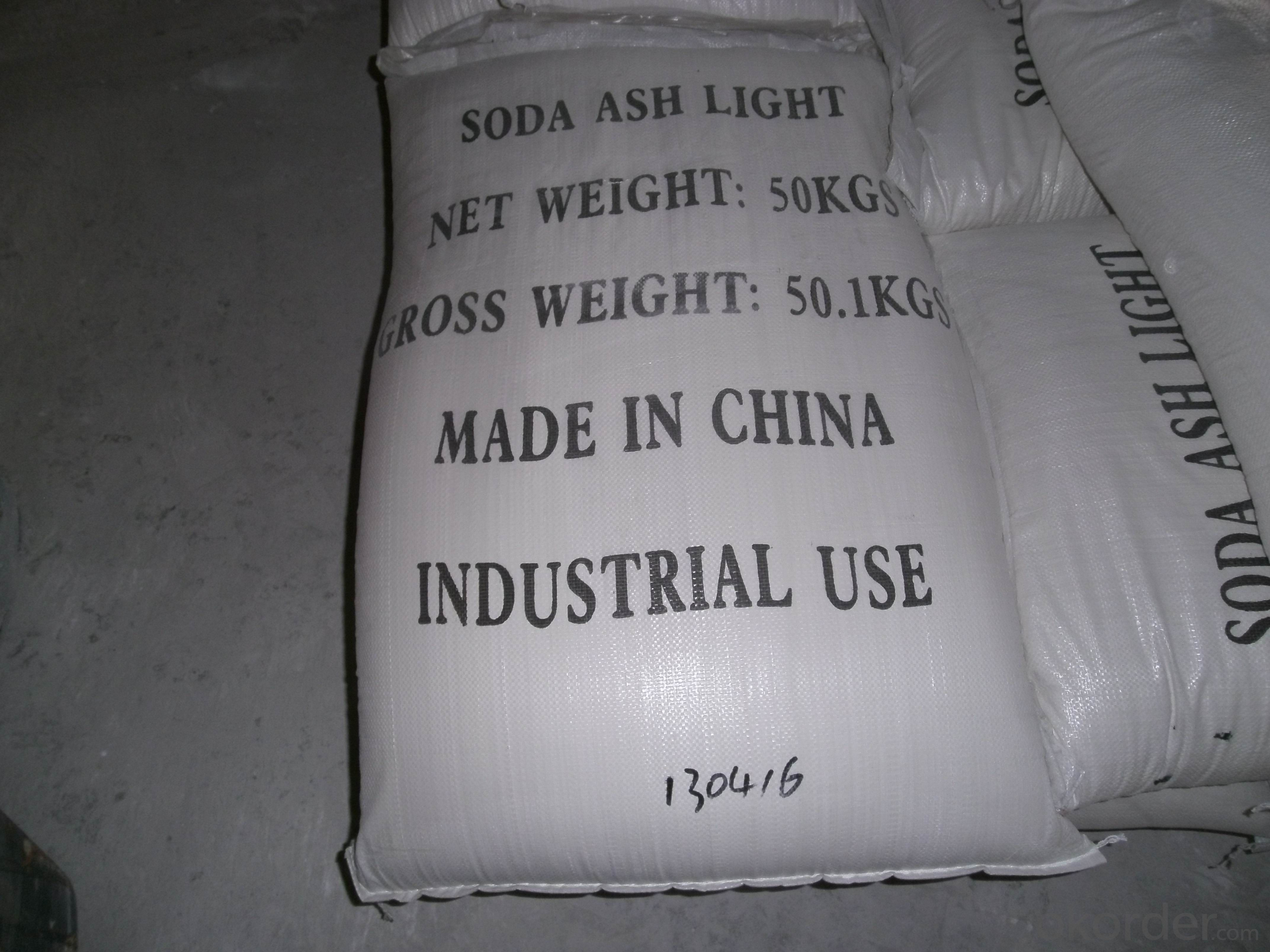 Soda Ash Light99.2% with High Quality and Best Offer