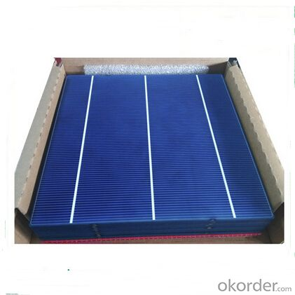 Polycrystalline Solar Cell High Quality 17.2-17.4