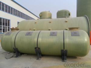FRP Tanks Fiberglass Reinforced Plastic Tank Hydrochloric Acid Tank