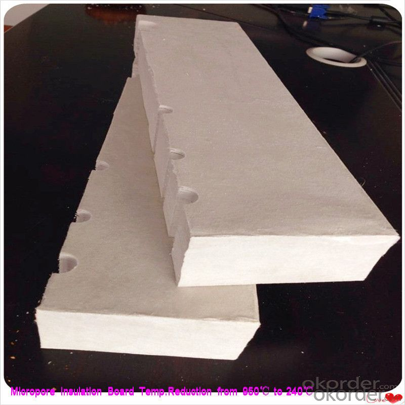 25mm Insulation Board for Steel Plant Micropore Heat and Thermal Insulation in Insulation Layer