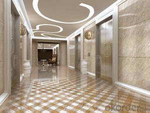 Full Polished Glazed Porcelain Tile 600 YDL6BB246