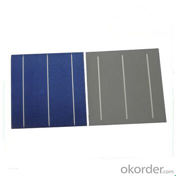 Polycrystalline Solar Cell High Quality 16.80%-17.99% Effy