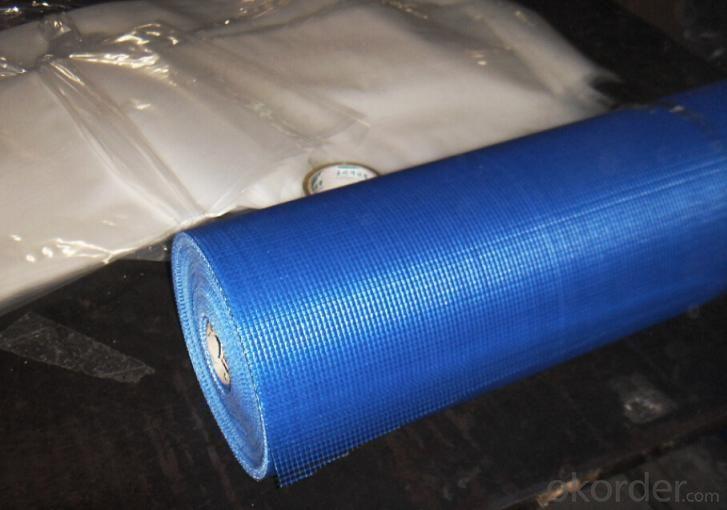 140 Gram/m2 Fiberglass mesh, Blue Colour, High Quality