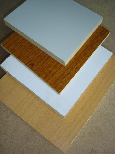 18mm High Gloss Melamine MDF Board  Melamine Sheet