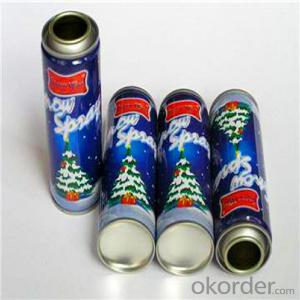 Aerosol Can for Hair Spray,Φ57mm Tinplate Material