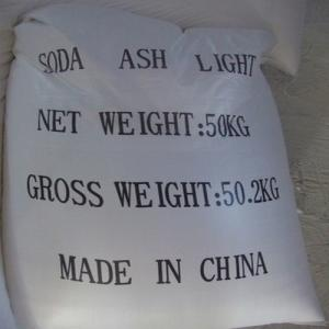 Soda Ash Light 99.2% with High Quality and Good Quatation