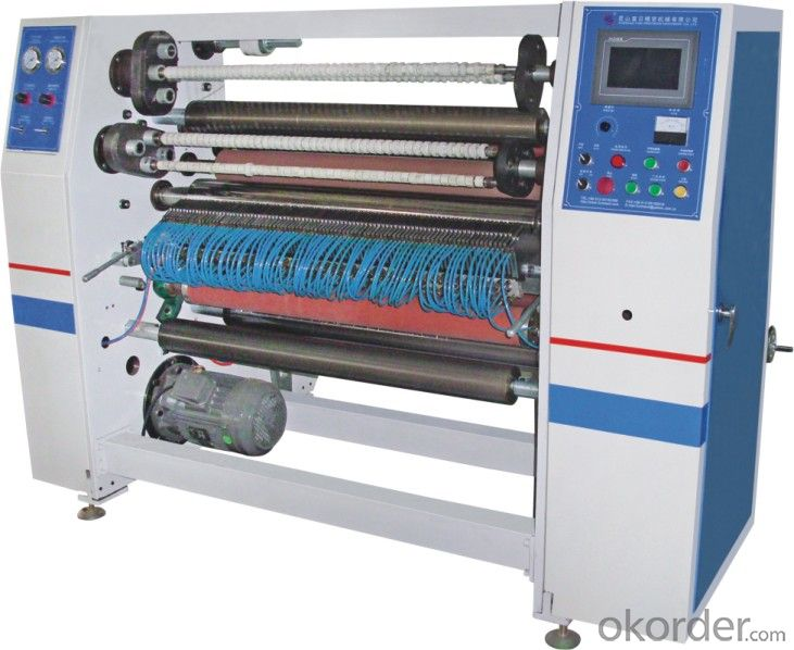 High Speed Slitting And Rewinding Machine