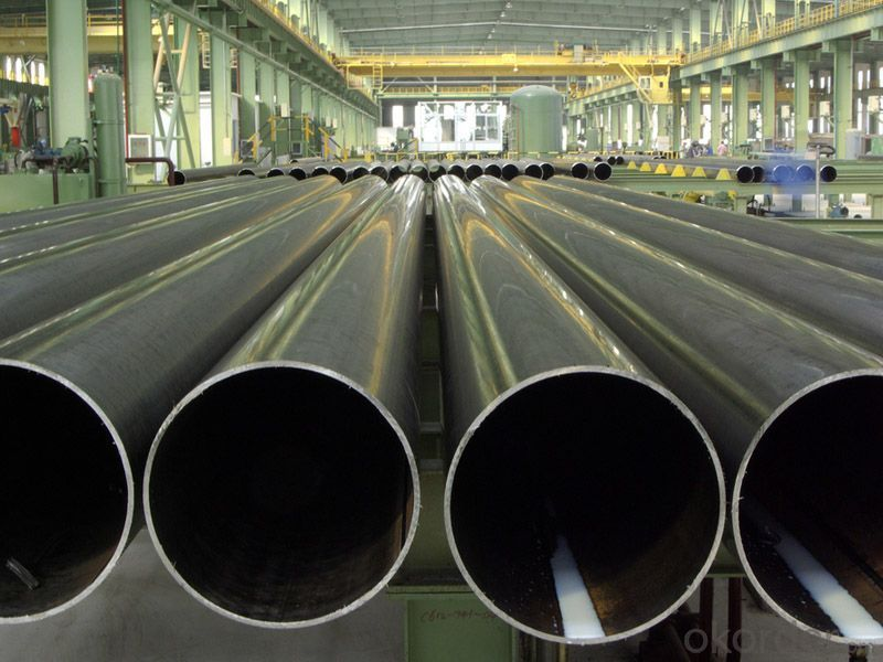 Longitudinal Submerged Arc Welded Steel Pipe API 5L
