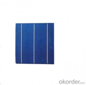 Polycrystalline Solar Cell High Quality 16.25%-16.50% Effy