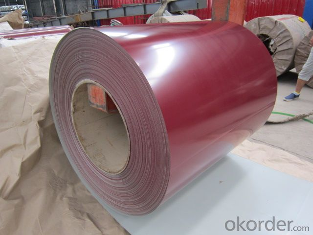 Pre Painted Galvanized SteelCoil Colored