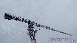 Tower Crane Split in row of weight QTZ100(6013)
