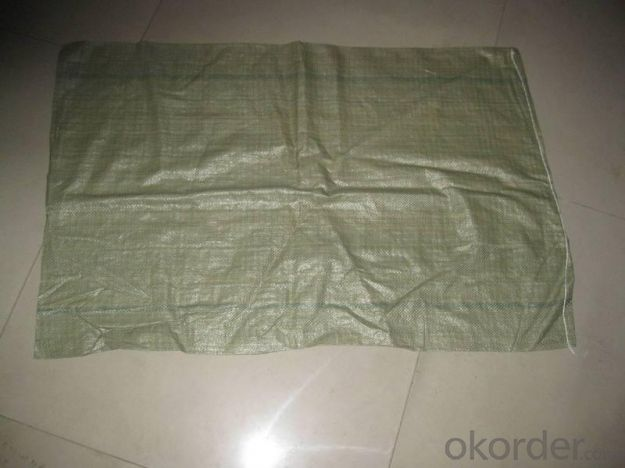 Supply Recycle China PP Woven Bags For Cement /Fertilizer/Rice/Wheat Flour/Feed Stuff