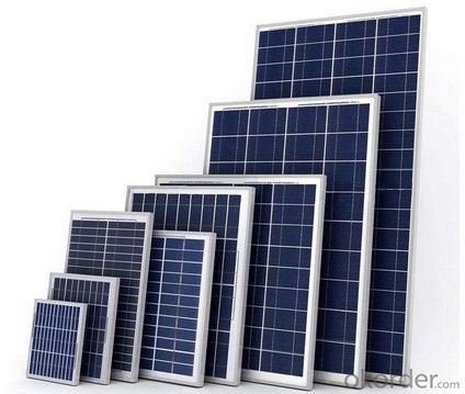 Non-Anti-Dumping Mono and Poly 5W to 320W solar panel