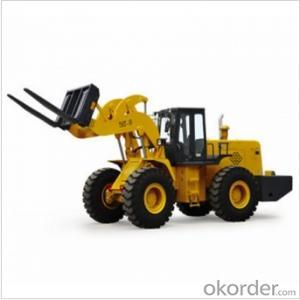 Turbocharged 756T-16 Forklift Loader