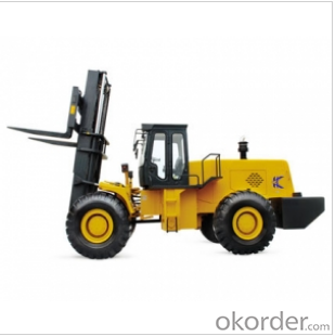 China Durable & Cheap 8150T Rough Treeing Forklift