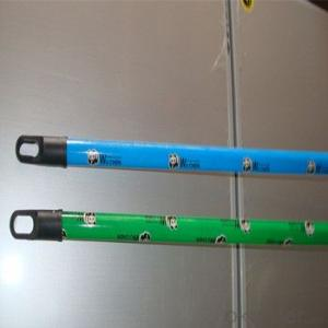 Wood Stick Handle With Good Quality And Colorful Surface