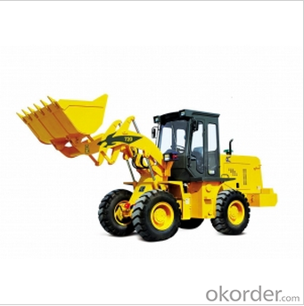 720 Wheel Loader with 1.2m³ Capacity