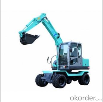 Mini Wheel Excavator