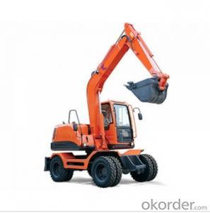 W90 Mini Wheel Excavator