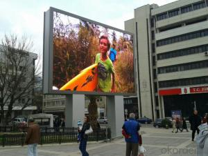 LED outdoor Screen Traditional Plastic Modules
