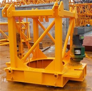 Tower Cranes luffing self-raising electric QTD80