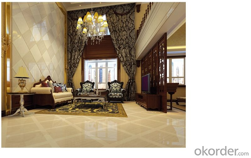 Polished Porcelain Floor Tile Yulip Stone Serie CMAX-Y602