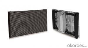 LED outdoor Screen Die-casting aluminum modules