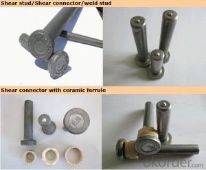 Shear stud connector for Building Material