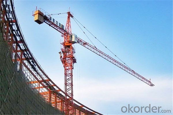 Tower Cranes Self Climbing with High Efficiency 4ton 5510