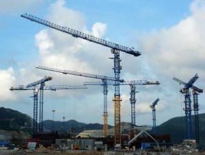 Tower Cranes Topless  Flat-top QTZ50(PT5010)