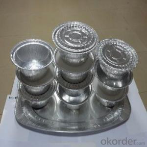 Container Foil Aluminium Foil Lacquered or Lubricant