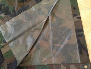 New Design Camouflage Rain Coat Polyester 100% Waterproof Men's Rain Suits