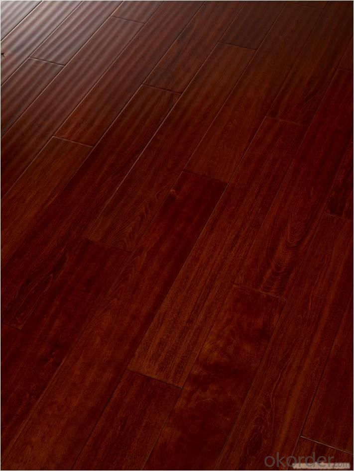 Yongsen Solid wood Floor Of The Disc Beans Red Light A Grade Pure Solid Wood Floor