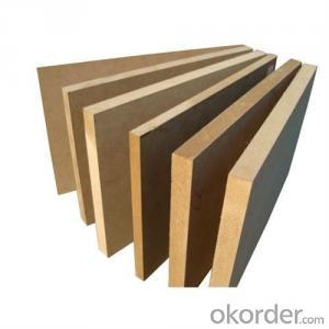 Plain MDF Board 15x1220X2800MM Light Color