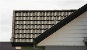 Roof Penal Nosen Type;Flat Metal Type; Corrguated Tile with Resistant  made in China stone coated