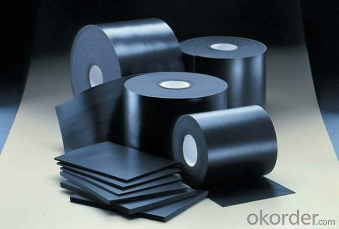 EPDM Waterproof Rubber Membrane with 1.2mm Thickness