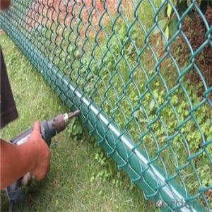 Chain Link Wire Mesh Fence PVC Fence High Quality Direct Factory