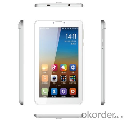 Sophia 3G Tablet PC Quad Core RAM 512M+ ROM 4GB and 0.3+2.0MP Camera