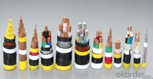 0.6/1KV-3.6/6KV Copper or Aluminum Conductor XLPE/PVC Insulated Electrical Cable